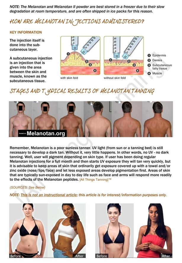 How Tanning Injections Work