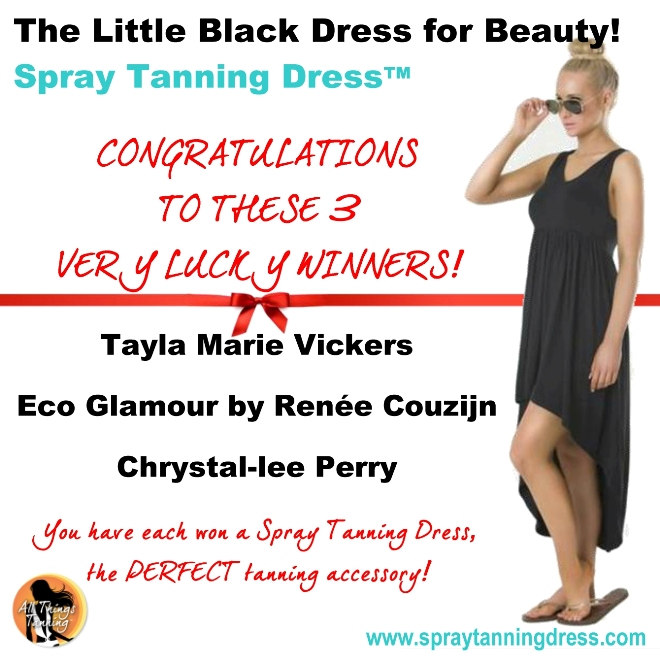 Win One Of 3 Dresses - Winners