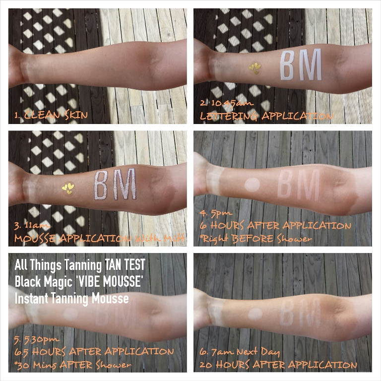 TAN TEST – Black Magic Vibe Mousse | [All Things Tanning] For Tan Fans!