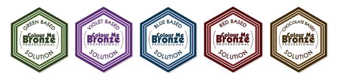 Colour Me Bronze Base Colour Logos