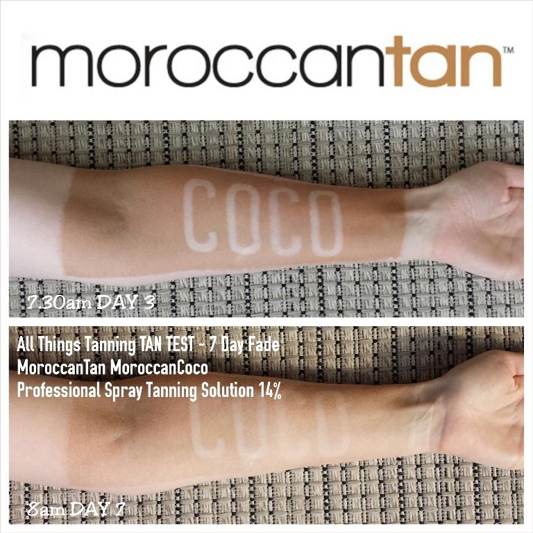 TAN TEST - MoroccanTan MoroccanCoco