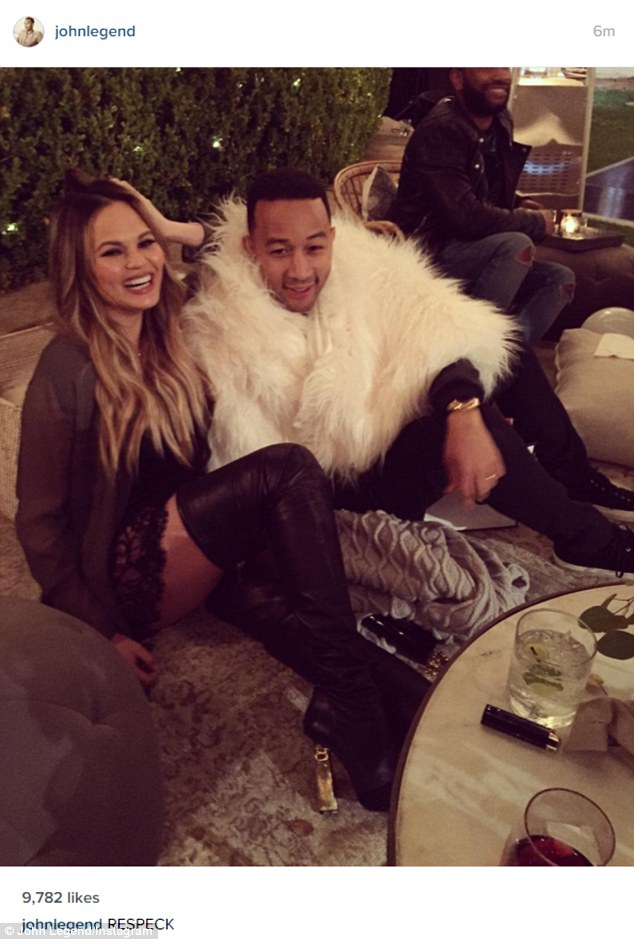 Chrissy Teigen Shares Funny Photo Of Her Bed After A Spray Tan