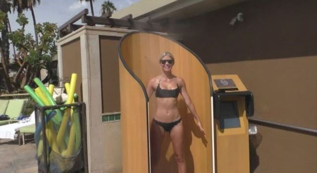 Sunscreen Machine Takes Guesswork Out Of Applying
