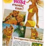 Vintage Coppertone Advertisements