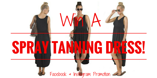 Win One Of 3 Spray Tanning Dresses