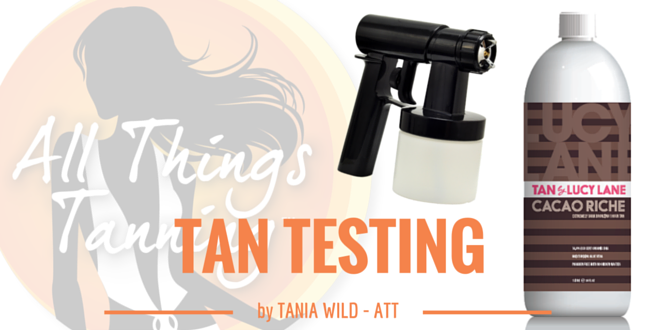 TAN TEST – Tan by Lucy Lane Cacao Riche