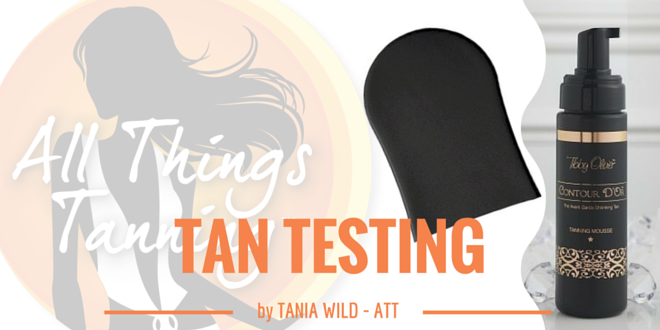 TAN TEST – Tibby Olivier Contour D'Or Mousse