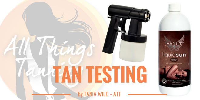TAN TEST – Vani-T Liquid Sun Medium
