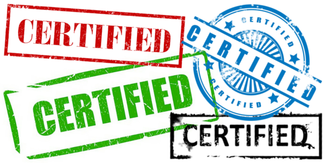 Standards & Certifications