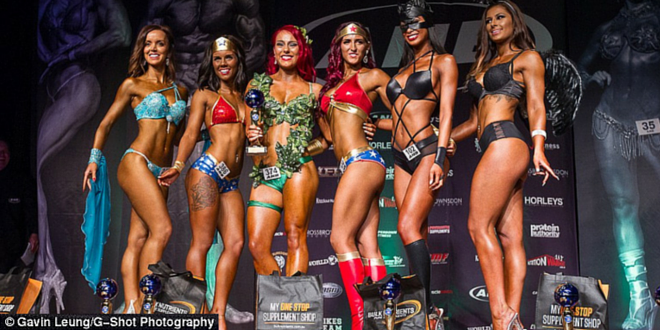 Behind The Scenes Of A 'Natural' Bodybuilding Championship