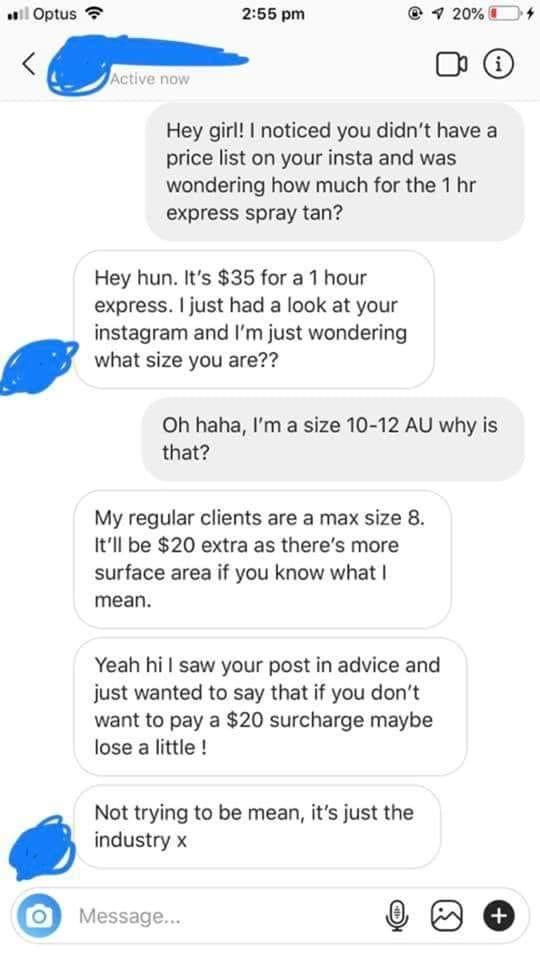 Shocking Conversation